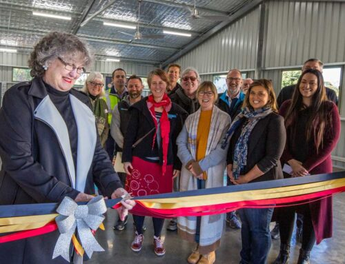 Community Shed opening, 1st July